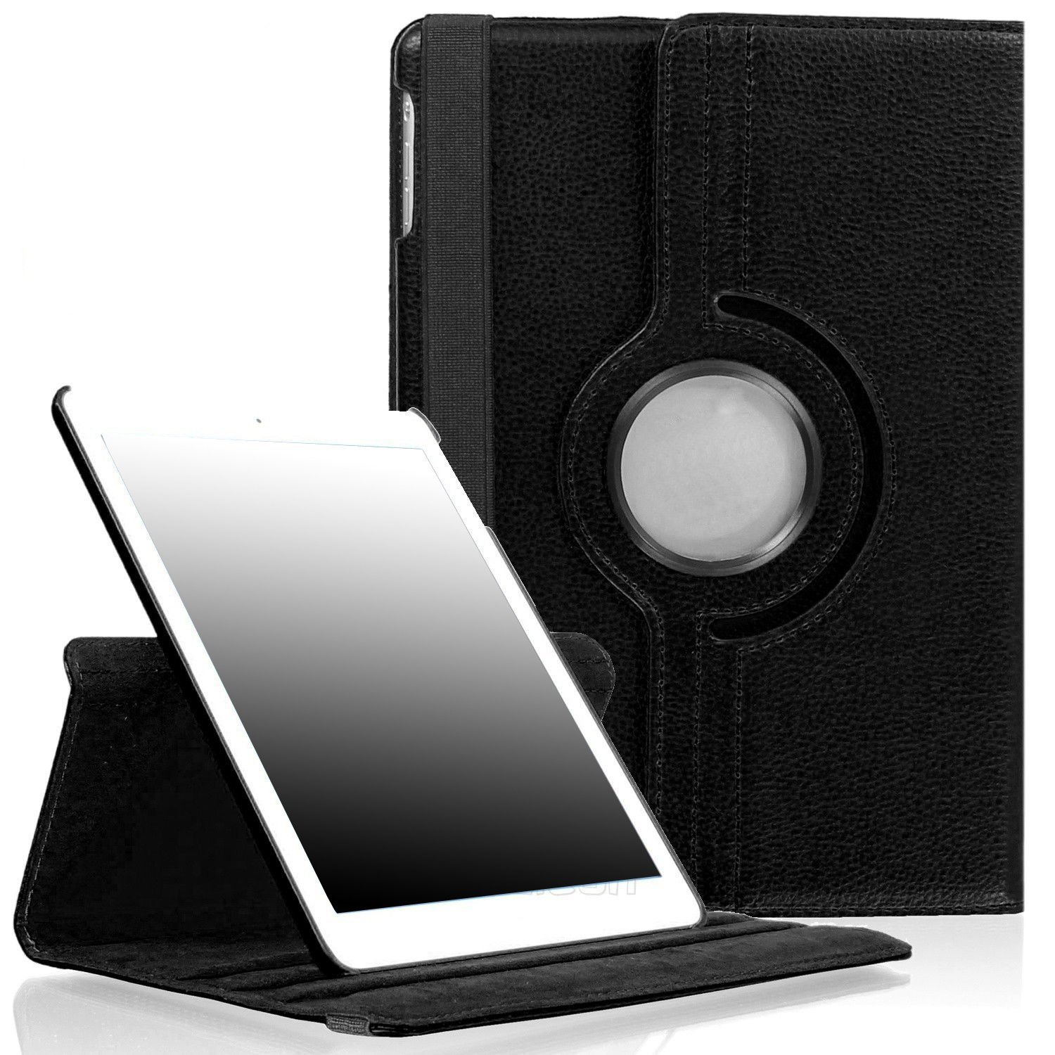 Peyou Rotating 360 Degree Leather Case For Ipad 2 3 4 Mini